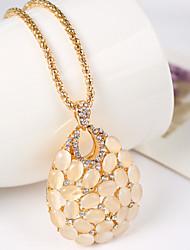 Lubi Frauen alle passenden Vintage-geometrische Halskette
