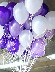 10 pouces 2.2g nacrée ballon - 100 pièces (plus de couleurs)