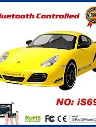 i-contrôle agréé voiture bluetooth Porsche pour iPhone, iPad et Android is690
