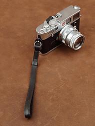 cam-in cam2097 genuino cinturino da polso in pelle per la macchina fotografica