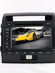8-inch 2 Din TFT Screen In-Dash Car DVD Player For Toyota Land Cruiser With Bluetooth,Navigation-Ready GPS,iPod-Input,RDS,TV
