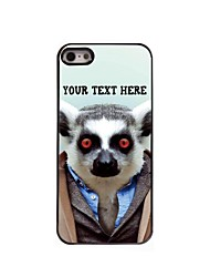 Personalized Phone Case - Sloth Design Metal Case for iPhone 5/5S