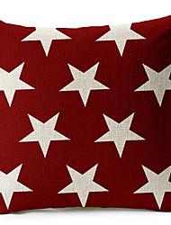 звезды хлопок / белья декоративную подушку крышку
