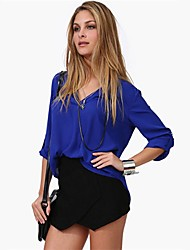 European Style Over Size Long Sleeve Shirt