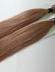 brasilianisches reines Haar 3pcs 20-Zoll-Klasse 5a brasilianischen Menschenhaars silk gerade Haarverlängerung / weben (# 10)