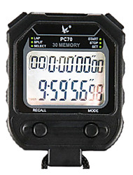 30 1 / 100s souvenirs 2 ligne de temps 10h à rebours&calendrier chronomètre numérique pour le football saut PC70