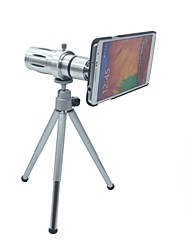 Full Metal 12x Zoom Lens w/ TrIpod Mount + Back Case for Samsung Galaxy Note 4