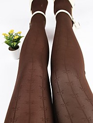 Hosiery Party/Casual Sexy Vintage Bow Jacquard Pantyhose(More Colors)