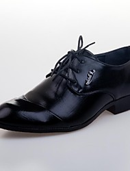 Men's Shoes Wedding/Outdoor/Office & Career/Casual/Party & Evening Leatherette Oxfords Black/Brown/White