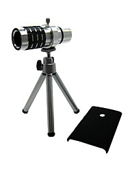 Detachable 12X Telephoto Lens Set with Back Case for Nokia Lumia 920