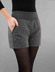 Women's Fashion Winter All Match Casual Tweed Short