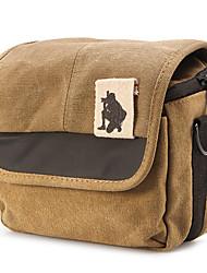 Canvas Camera Bag for Mirrorless Camera