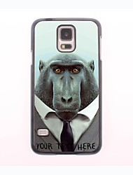 Personalized Phone Case - Baboon Design Metal Case for Samsung Galaxy S5 mini