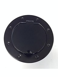 Stainless Non-Locking Gas Hatch Cover for JK Wrangler Fuel Tank