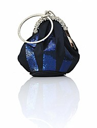 Women's Silk And Sequins  Evening Handbags(More Colors Available)