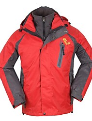 Outdoor Men's 3-in-1 Jackets / Winter Jacket Camping & Hiking / Climbing / Leisure Sports / Snowsports / SnowboardingWaterproof /