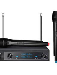 shdz sh-30 microphone sans fil karaoké microphone dynamique ensemble
