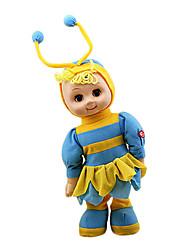 canto elétrica e andando pouco abelha brinquedos de pelúcia