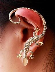 Fashion Exquisite Women Gecko Ear Cuffs Random Color