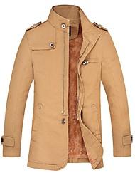 CHUN ZHENG Men's Fashion Stand Collar Jacket_7721(7711加厚款)