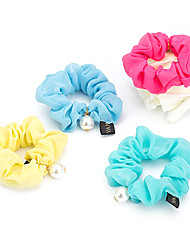 1PC Korean Yarn Ponytail Holders(Random Color)