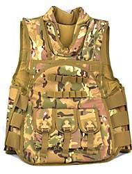 светло-зеленый камуфляж нейлон Молл тактической военной армия боевой пейнтбол жилет