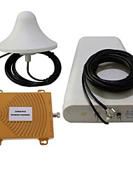 New CDMA/PCS 850/1900MHz Dual Band Mobile Phone Signal Booster Repeater Amplifier Antenna Kit