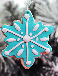 Polymer Clay Snowflake Candy Hanging Christmas Tree Decorations