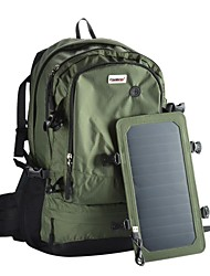Conbrov ECE-602 6.5 Watt Solar Backpack with Built-in Solar Charging Panel Coating Transfer Rate : 22% -green-