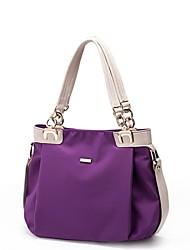 venta caliente mujer sencilla nylon vendimia bolso de mano de la señora de la moda