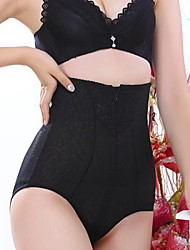 Patterned High Waist Solid Color Elastic Shaping Panty More Colors available Sexy Lingerie Shaper