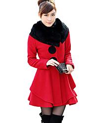 d&caldo cappotto di lana donne yy di