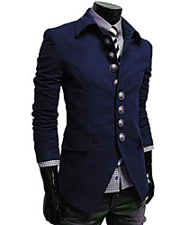 Brother Korean Simple Slim Stand Collar Coat F18(dark gray,black,camel,navy blue,red)