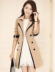 Women's Fashion Cotton Trench Coat