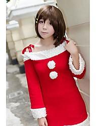K-ON!Hirasawa Yui Red Christmas Costume