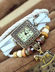 reloj de pulsera de la vendimia de la moda huashi