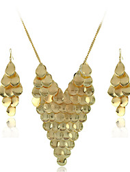 Yumfeel Women's Punk Metal Two Piece Necklace: