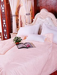 100% Mulberry Silk Pure Handmade  Manually Locating Silk Quilt Comforter Blanket Bedding Set