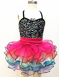 Ballet Dance Dancewear Children's Sequin Ballet Tutu Dress