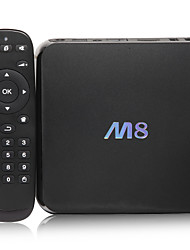 m8 Cortex A9 android 4.4 caixa de Smart TV 4K 2g núcleo ram 8g rom quad wi-fi Bluetooth