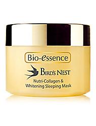 Bio-essence Bird's Nest Range Bird's Nest Nutri-Collagen & Whitening Sleeping Mask 60g