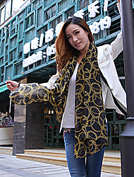 Beileier Women's Temperament Fashion Elegance Print Scarf