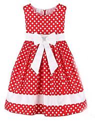 crianças arco ponto vermelho de casamento festa concurso de roupas de menina vestidos encantadores
