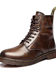 Men's Shoes Outdoor/Office & Career/Dress/Casual Calf Hair Boots Black/Blue/Brown/Red/Gray