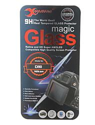 Hartglas Kameradisplayschutzfolie für Nikon D90