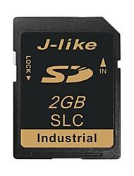 tarjeta de memoria de 2gb sd sdhc-j like® grado industrial de chips SLC