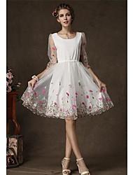 d.sa o vestido de moda europeus e americanos