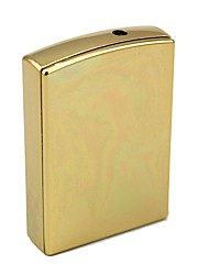 Personalized Engraving Gold Metal Electronic Lighter