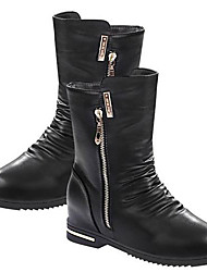 Chaw Women's Winter Fashion Zipper Short Boots A-88
