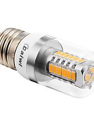 E26/E27 5 W 27 SMD 5730 350 LM Warm White T Corn Bulbs AC 100-240 V